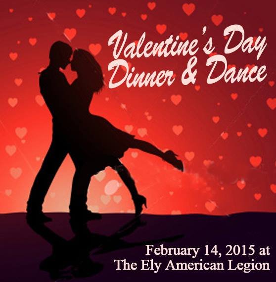 Valentines Day Dinner And Dance At The Ely Legion American Legion