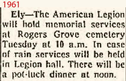 Cedar Rapids Gazette 1961