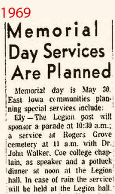 Cedar Rapids Gazette May 18, 1969q